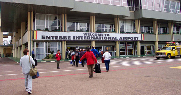 entebbe international airport - Entebbe town